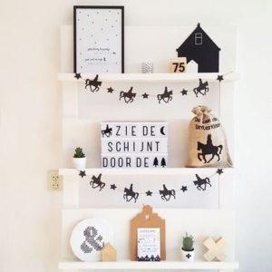 Sinterklaas decoratie wand